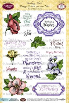 CR02106_Birthday_Floral_Vintage_Labels_Eight_and_Nine_LG