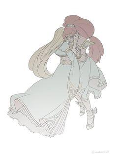 TLoZ: BoTW;  Zelda & Urbosa ❤