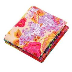 Fall 2017 6 piece Fat Quarter pack 3 by Kaffe Fassett image Textile Artists, Fat Quarters, Textiles, Sewing, Fall, Fabric, Prints, Image, Color