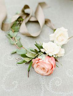 Lanson B. Jones Floral + Events | Megan Candler floral designer | #macfloraldesigns | Kelli Durham Photography | floral dog collars