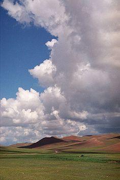 Mongolie, steppes et paysages, photos de Jeff Bauche