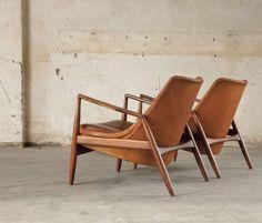// kofod-larsen seal lounge chairs
