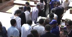 Corpo do ator Domingos Montagner é sepultado em São Paulo