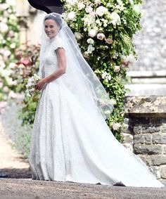 Pippa Middleton's Giles Deacon Wedding Dress