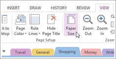 Create or customize page templates - OneNote Onenote Template, Notes Template, Page Template, Templates, One Note Microsoft, Microsoft Surface, Microsoft Office, One Note Tips, Emergency Binder