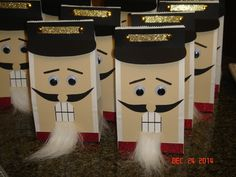 Nutcracker treat bags