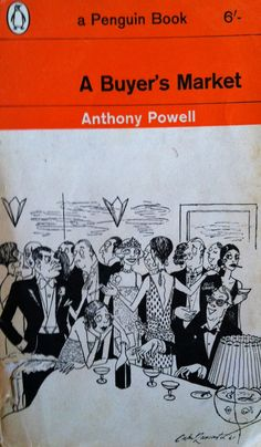A buyer's market By Anthony Powell Vintage penguin paperback book