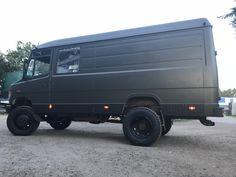 Mb 815 4x4 Mercedes Camper, Old Mercedes, Mercedes Sprinter, 4x4, Ambulance, Mb Vans, Luxury Rv Living, Van Conversion Interior, Cool Campers