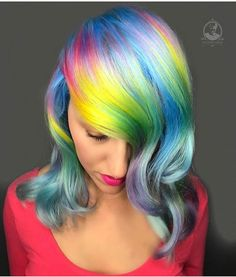 """7,483 Likes, 32 Comments - Pulp Riot Hair Color (@pulpriothair) on Instagram: """"@caitlinfordhair is the artist... Pulp Riot is the paint."""""""