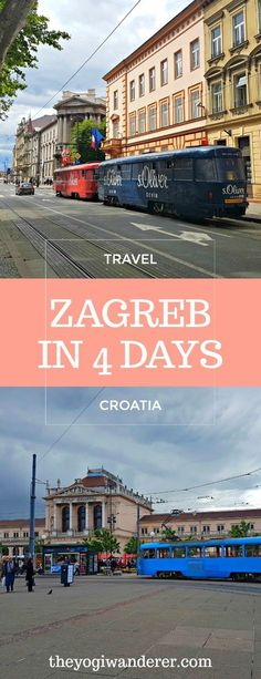 How to spend 4 days in Zagreb, Croatia #Travel #Europe #Balkans