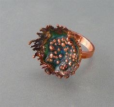 Electroformed Copper & Enamel                                                                                                                                                      More