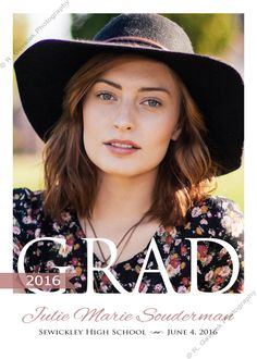 16 best grad announcement templates images on pinterest graduation