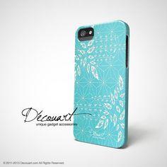 Snowflake floral iPhone 6 case, iPhone 6 Plus case S324