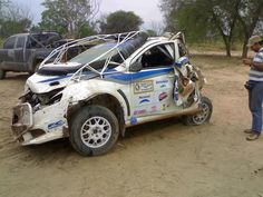 Why rally cars have roll cages