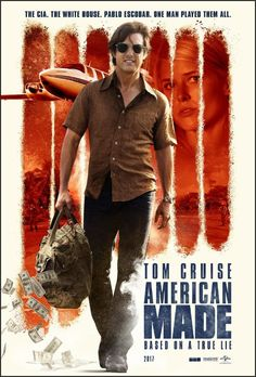 American Made Movie Poster (2017)