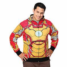 #Marvel Iron Man Mark 42 Costume Hoodie