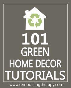 101 Green Handmade Gift Tutorials - EverythingEtsy.com