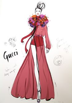 Megan Hess The Dress: Gallerie B