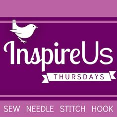 Inspire Us Thursdays: Sew Needle Stitch Hook | The Inspired Wren