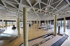 Queen Alia International Airport terminal.