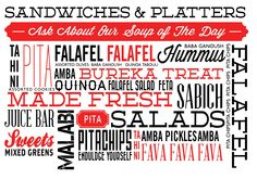 THE FALAFEL SHOP gluten free falafel
