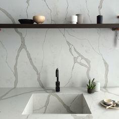 Smartstone Quartz surfaces - Calacatta Blanco