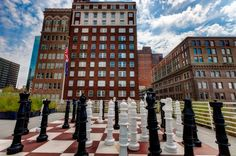 """Top patio of Kansas City Central Library""""...so cool!"""