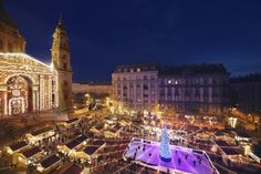 Christmas Fairs in Budapest