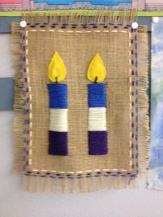 use similar running stitch border - burlap place mat for first grade Textiles, Textile Patterns, Crafts For Kids, Arts And Crafts, Paper Crafts, Christmas Art, Simple Christmas, Sewing Crafts, Sewing Projects