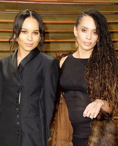 Famous Families: Like Mother, Like Daughter - Lisa Bonet and Zoe Kravitz from #InStyle
