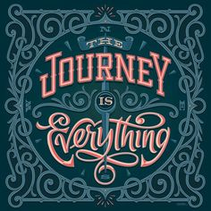 The journey is everything by Erik Marinovich