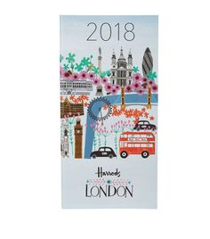 Harrods London Collage Slim Week-To-View 2018 Diary available to buy at Harrods.Shop harrods home online and earn Rewards points.
