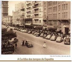 Curitiba, década de 1950.: