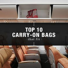 The 10 Best Carry-On Luggage Bags for Any Airline