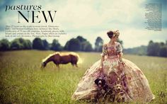Karlina Caune | Boo George | Vogue UK October 2012 | 'NewPastures' - 8 Style | Sensuality Living - Anne of Carversville Women's News