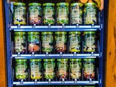 This Vending Machine Dishes Out Fresh Fruits And Veggies Instead Of Junk Food