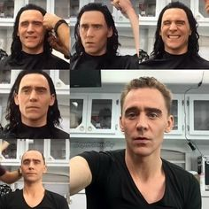 The long Loki hair really really suits him
