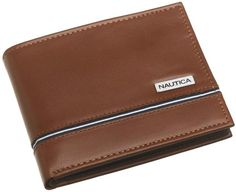 Nautica Men's Multi Card Passcase: http://www.amazon.com/Nautica-Mens-Multi-Card-Passcase/dp/B000VDV622/?tag=http://www.amazon.com/Best-Sellers-Clothing-Accessories/zgbs/apparel/1036700/ref=zg_bs_nav_a_1_a