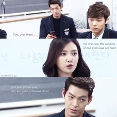 Heirs - loved this scene...lol