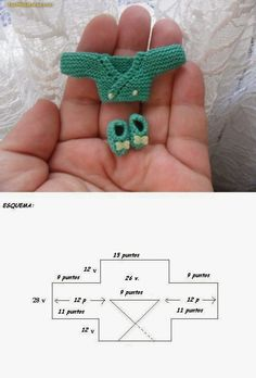 Lasminisdeanalabea: tutorial -- her barbie dolls stuff Crochet Doll Clothes, Knitted Dolls, Doll Clothes Patterns, Crochet Dolls, Doll Patterns, Crochet Baby, Knitting Patterns, Knit Crochet, Crochet Patterns