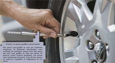 Gardez vos pneus correctement gonflés Des pneus sous-gonflés peuvent diminuer votre efficacité énergétique de 0,3 pourcents pour chaque baisse de pression d'un PSI (0,07 bar) dans vos quatre pneus. Des pneus gonflés correctement sont plus sûrs et durent plus longtemps. #nokianhakkapeliittar2
