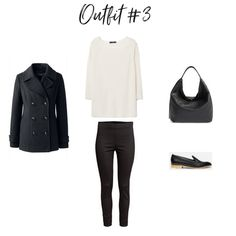 How To Create Outfits With a Core Closet - Outfit #3