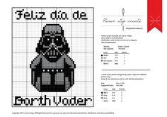 Free Darth Vader pattern by Lanas Crespo #darthvaderpattern blog.lanascrespo.es