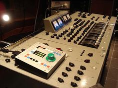 """""""Up until the Sgt. Pepper sessions in 1967, the recording desks used in the control room at Abbey Road Studios were the EMI-built REDD 37. Lenny Kravitz owns this console and recently added a CraneSong AVOCET monitoring system. This is probably the most famous console in the world. Lenny supposedly refused a substantial offer from a former Beatle member for it."""""""