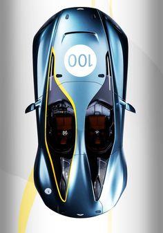 Visit The MACHINE Shop Café... ❤ The Best of Aston Martin... ❤ (Aston Martin CC100 Speedster)