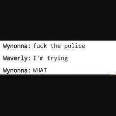 Imagen de wynonna earp and wayhaught