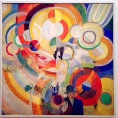 Art Print: Robert Delaunay Wall Art by Robert Delaunay : Sonia Delaunay, Robert Delaunay, Framed Art Prints, Poster Prints, Art Encadrée, Pompidou Paris, Georges Pompidou, Pig Art, Centre Pompidou