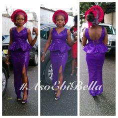 BellaNaija Weddings presents – Vol. African Lace Dresses, African Dresses For Women, African Men Fashion, Africa Fashion, African Fashion Dresses, African Attire, African Wear, African Women, Men's Fashion