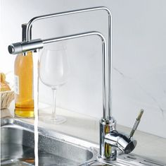 Three Way Kitchen Mixer Faucet Pure Water Filter T3306 | Drinking ...