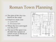 roman urban planning